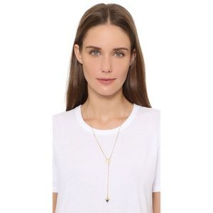 NEW! Madewell Lapis Drop Lariat Necklace